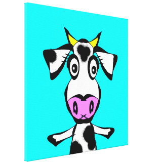 Little Heifer Canvas