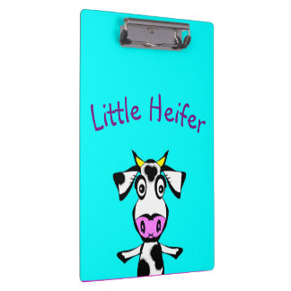 Little Heifer Doodle Clipboard