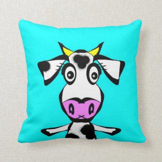 Little Heifer Throw Pillow
