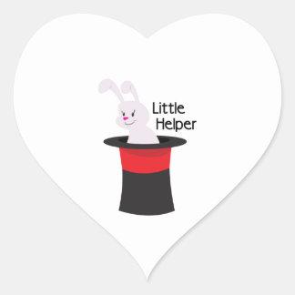 Little Helper Heart Sticker