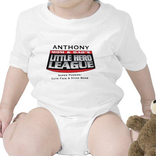 Little Hero League Bodysuits