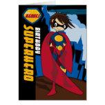 Little Heroes Superhero Birthday Card
