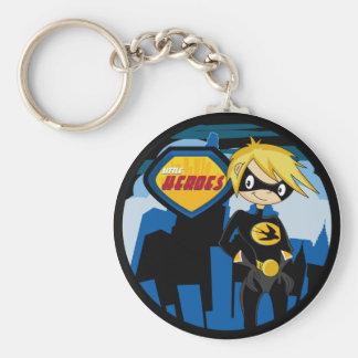 Little Heroes Superhero Keychain
