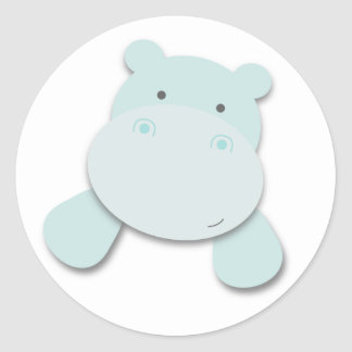 Little Hippo   Stickers
