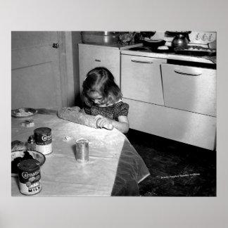 Little Homemaker Poster