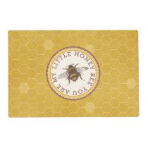 Little Honey Bee Placemat