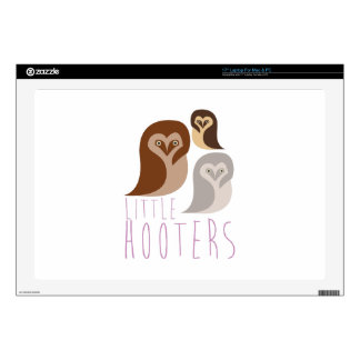 """Little Hooters 17"""" Laptop Decal"""