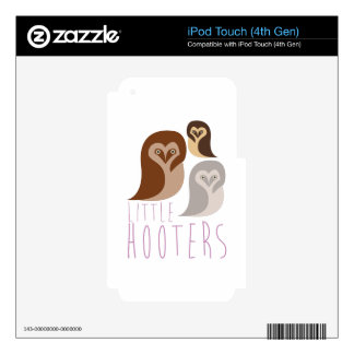 Little Hooters iPod Touch 4G Decal