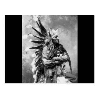 Little Horse, Oglala Sioux, 1890s Postcard