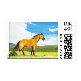 Little Horse on the Prairie Postage