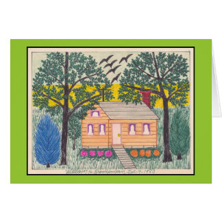 Little House 12-9-1980 Greeting Card