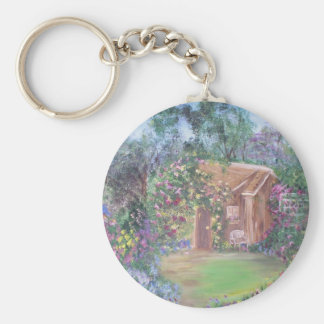 Little House at the End of the Path Keychain