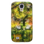 Little House by the Stream in Autumn Galaxy S4 Cover
