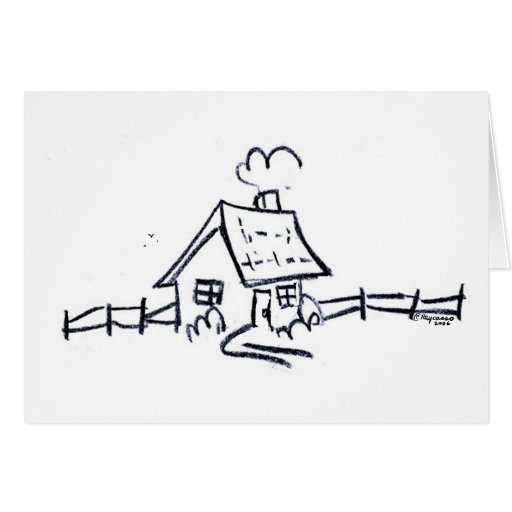LittLe hOuSe Greeting Card