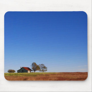 Little House in Texas Mouse Pad