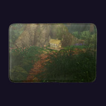 Little House in the Big Woods Bathmat