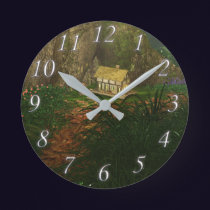 Little House in the Big Woods Clock