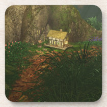 Little House in the Big Woods Cork Coasters