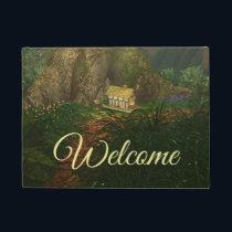 Little House in the Big Woods Doormat