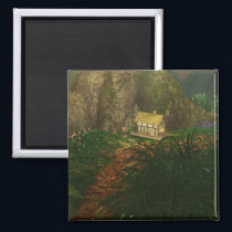 Little House in the Big Woods Magnet