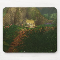 Little House in the Big Woods Mousepad