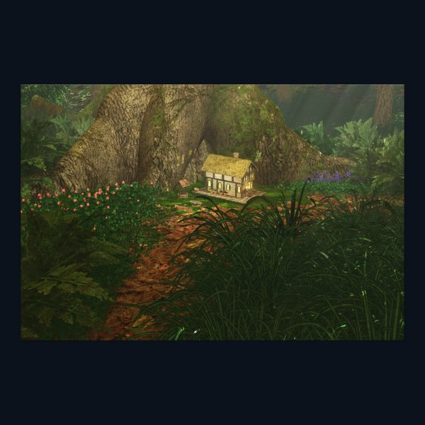 Little House in the Big Woods Photo Print
