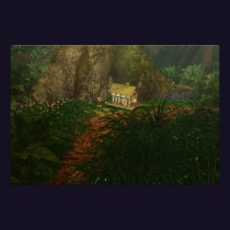 Little House in the Big Woods Print