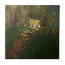 Little House in the Big Woods Tile /  Trivet