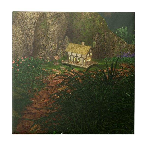 Little House in the Big Woods Tile /  Trivet