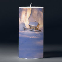 Little House in the Snow Candle