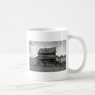 Little House  On Juniper Flats B/W Classic White Coffee Mug