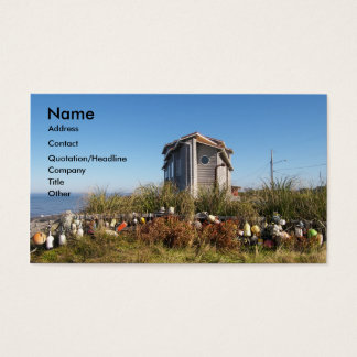 Little House On The Beach Business Card