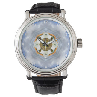 Little House on the Prairie Mandala Wristwatch