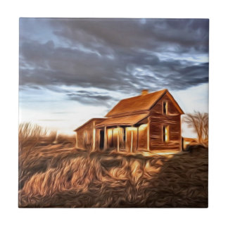 Little House on the Prairies Tile