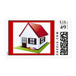 little-house-with-garden1 estampillas