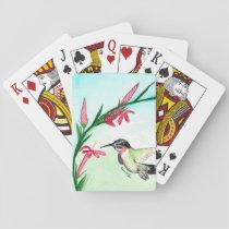Little Hummingbird Palying Cards