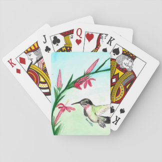 Little Hummingbird Palying Cards