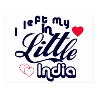Little India Post Card