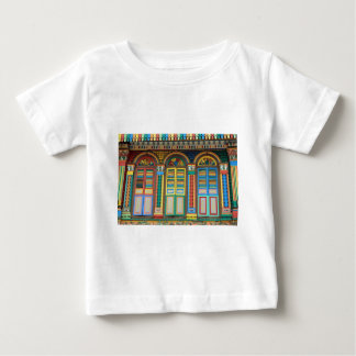 Little India Singapore colonial architecture T-shirt