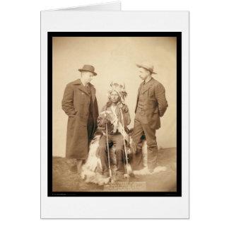 Little, Indian Rebel Leader Pine Ridge SD 1890 Card