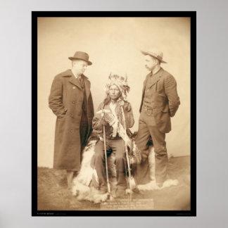 Little, Indian Rebel Leader Pine Ridge SD 1890 Poster