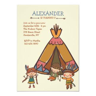 Little Indians Invitation
