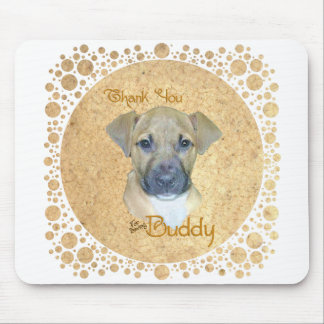 Little Injured Pup - Rescued! Mouse Pad