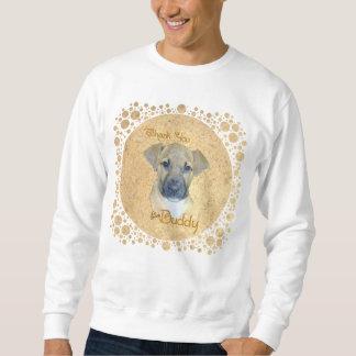 Little Injured Pup - Rescued! Pullover Sweatshirt