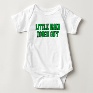 Little Irish Tough Guy Baby Bodysuit