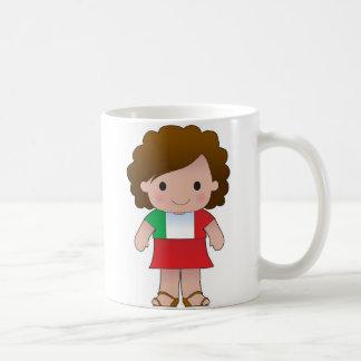 Little Italian Girl Coffee Mugs