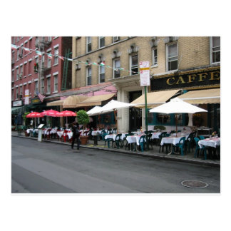 Little Italy Cafe Postcard