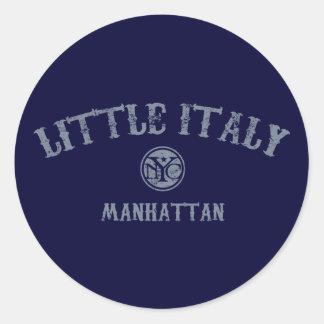 Little Italy Classic Round Sticker