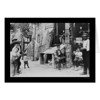 Little Italy Festival in New York City 1908 Greeting Card