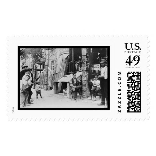 Little Italy Festival in New York City 1908 Postage Stamp